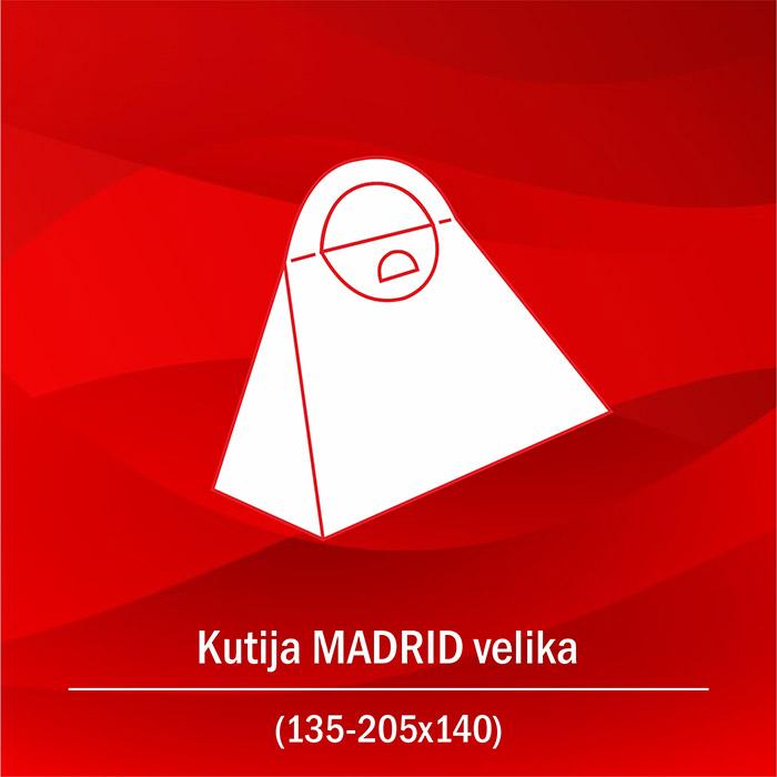 Kutija Madrid velika