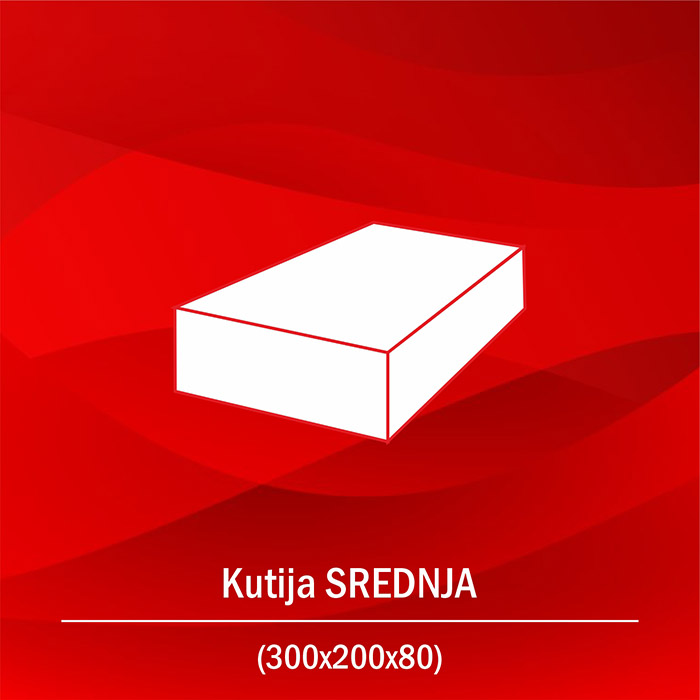 Kutija srednja B