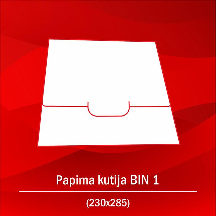 Papirna kutija bin 1b