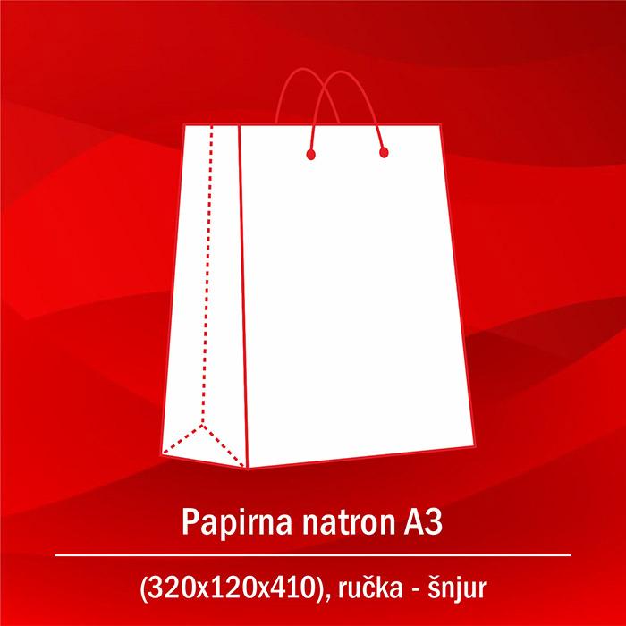 Papirna natron A3 A