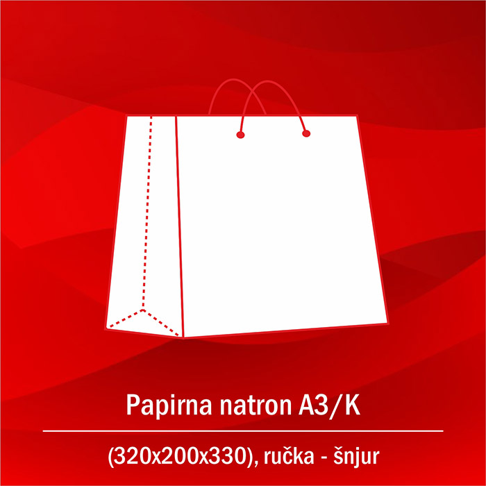 Papirna natron A3-K