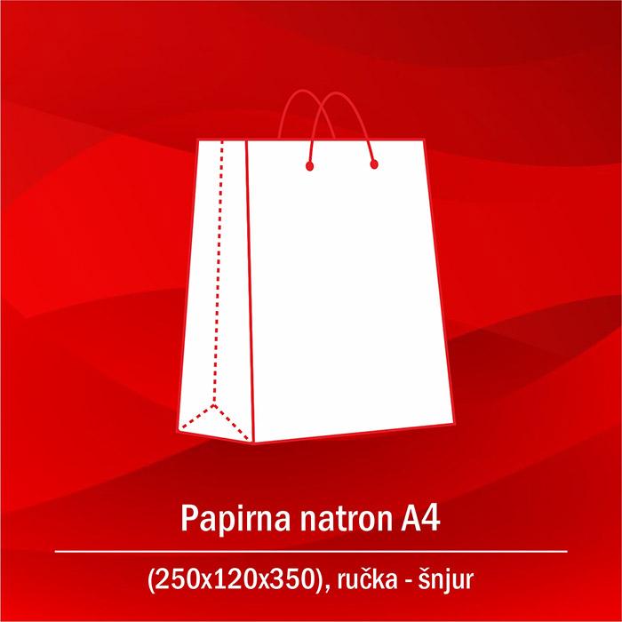 Papirna natron A4 A