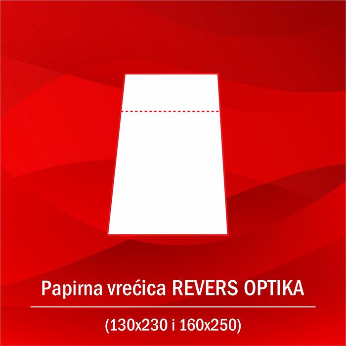 Papirna vrecica REVERS OPTIKA A